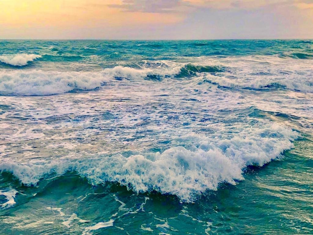 Playas más limpias de la playa de Rushikonda en India