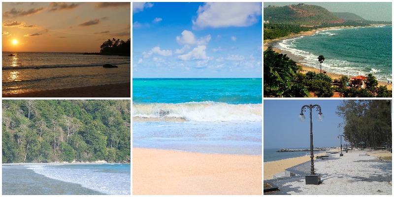 8 playas más limpias de la India