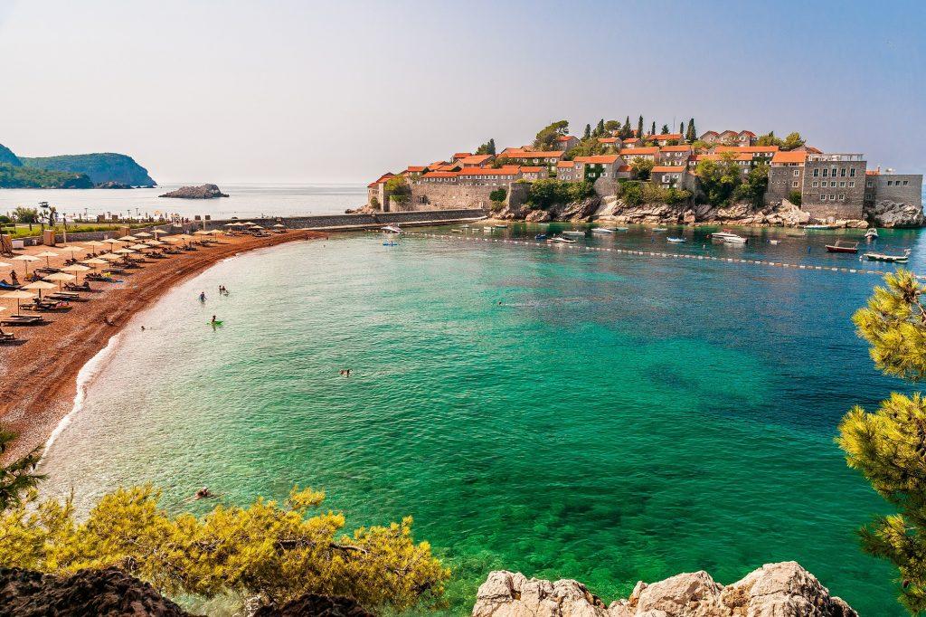 Playa de Sveti Stefan