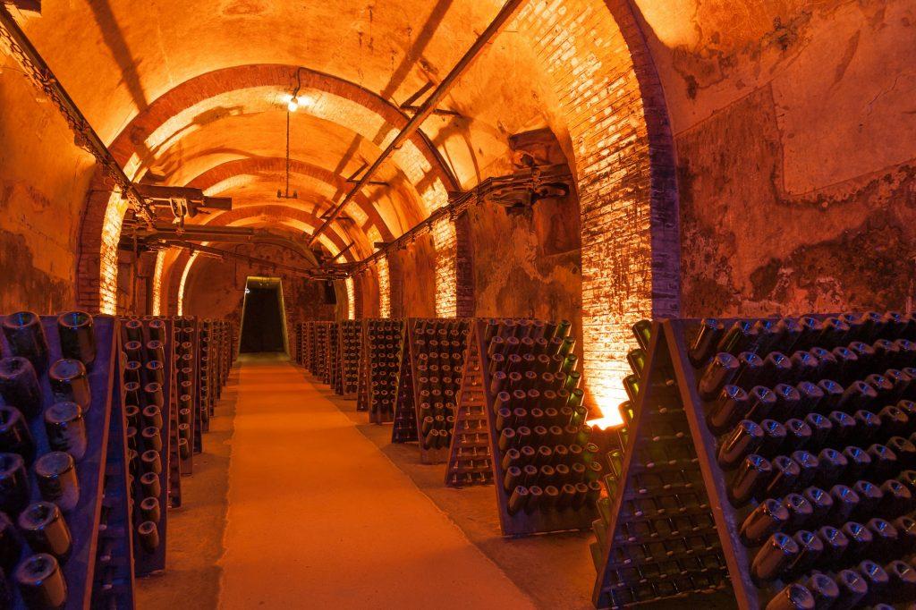 Bodega de champán Reims