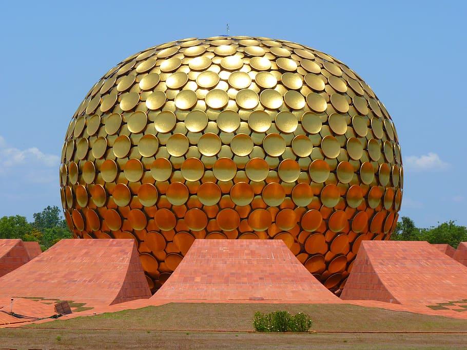 Ruta de Pondicherry - Visita Auroville