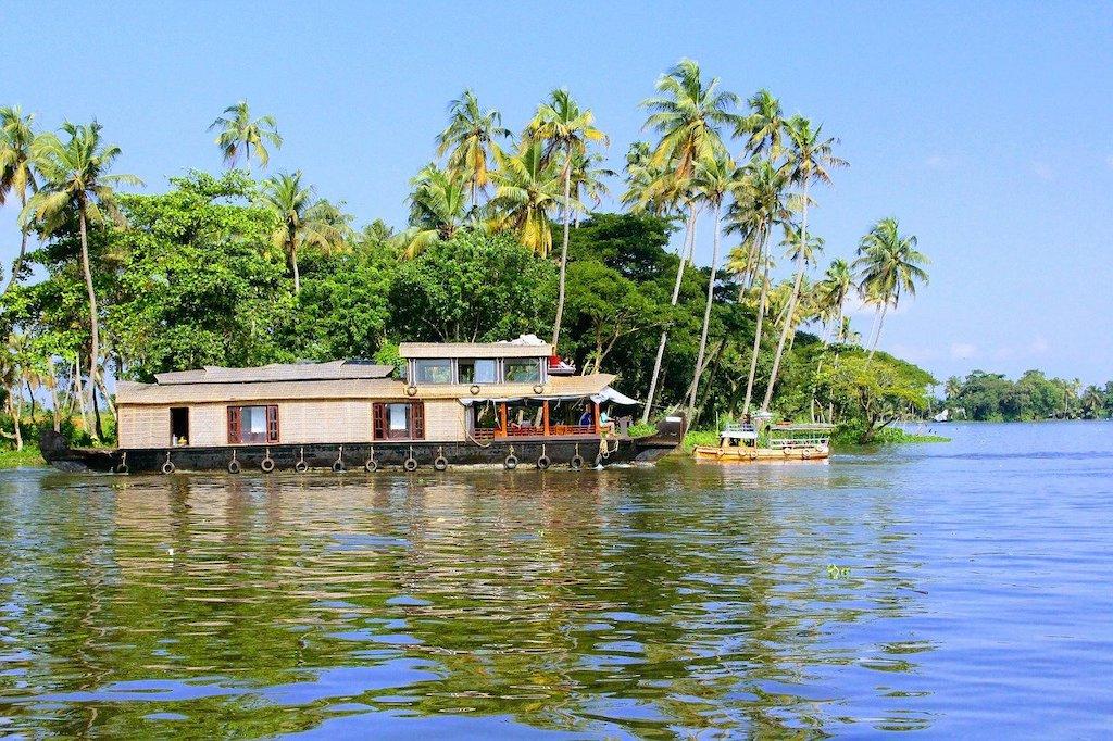 Los mejores lugares en el sur de la India: remansos de Kerala