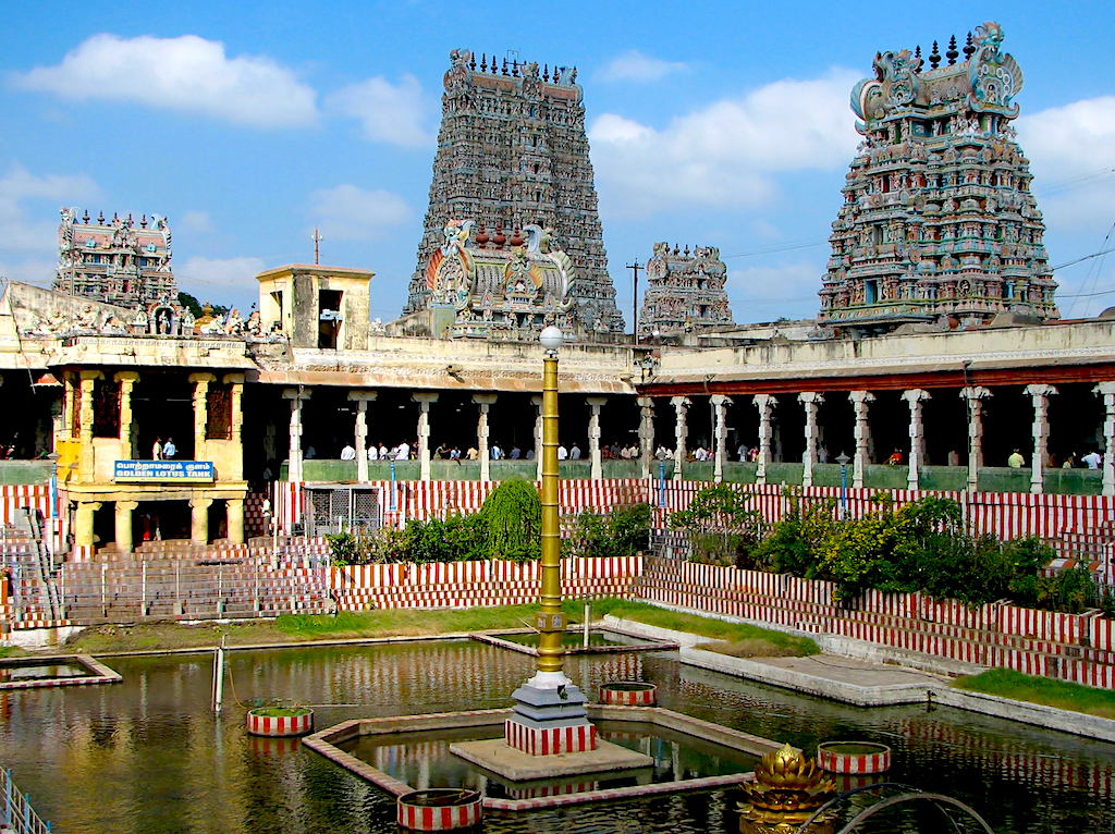 Los mejores lugares del sur de la India - Madurai