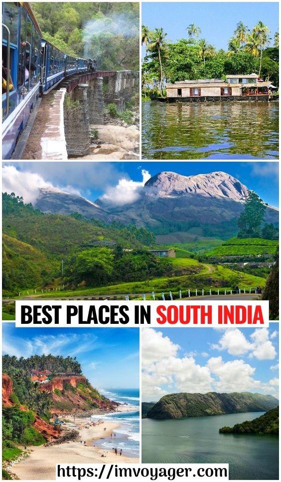 10 mejores lugares en el sur de la India