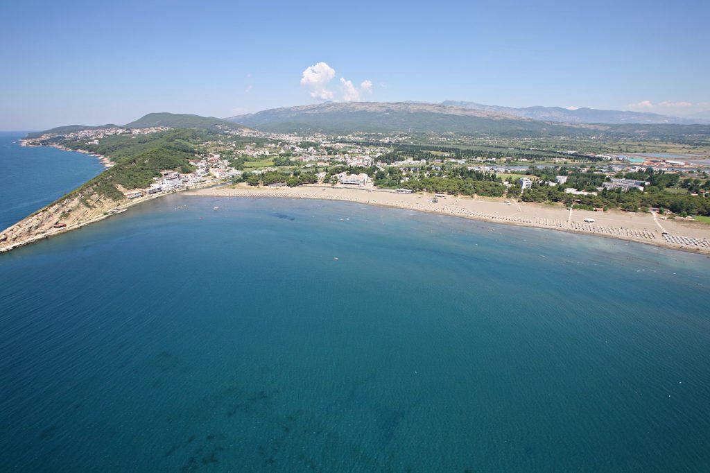 Playa de Ulcinj Montenegro