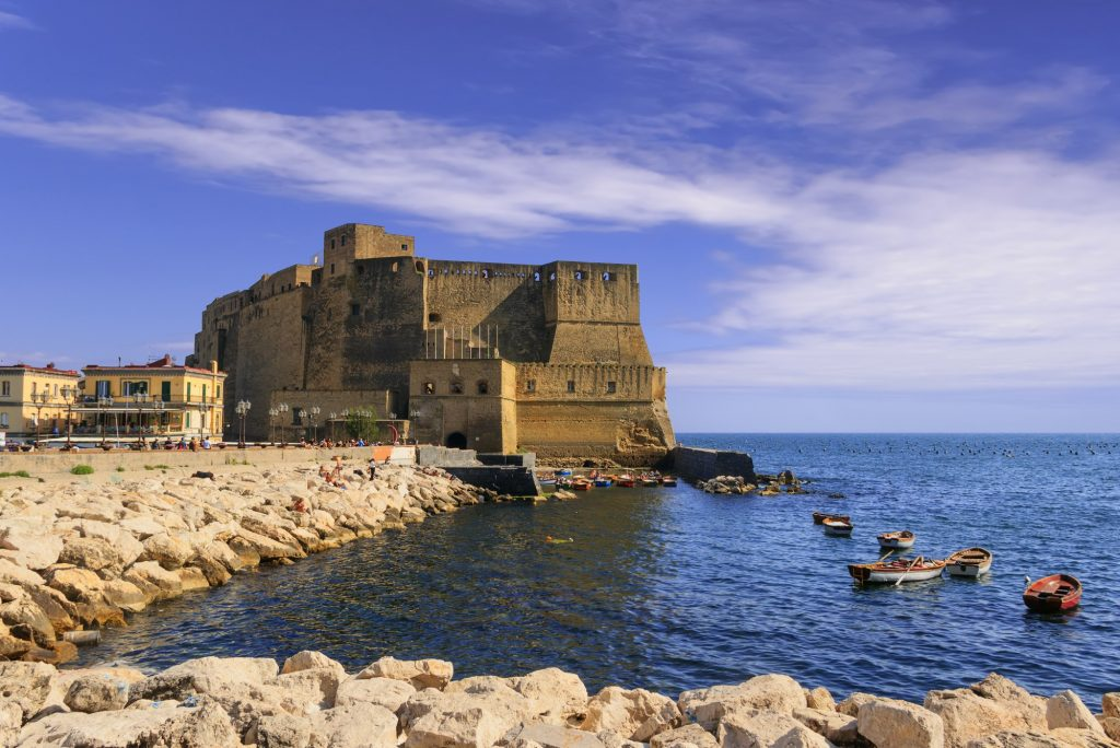 Castel dell'Ovo Nápoles