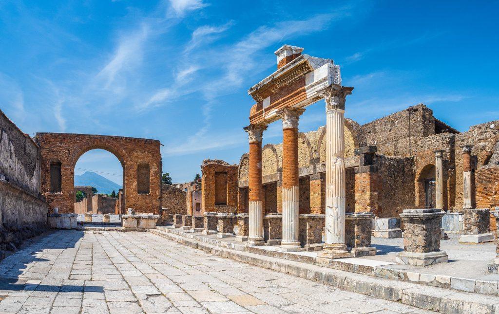 Excavaciones de Pompeya