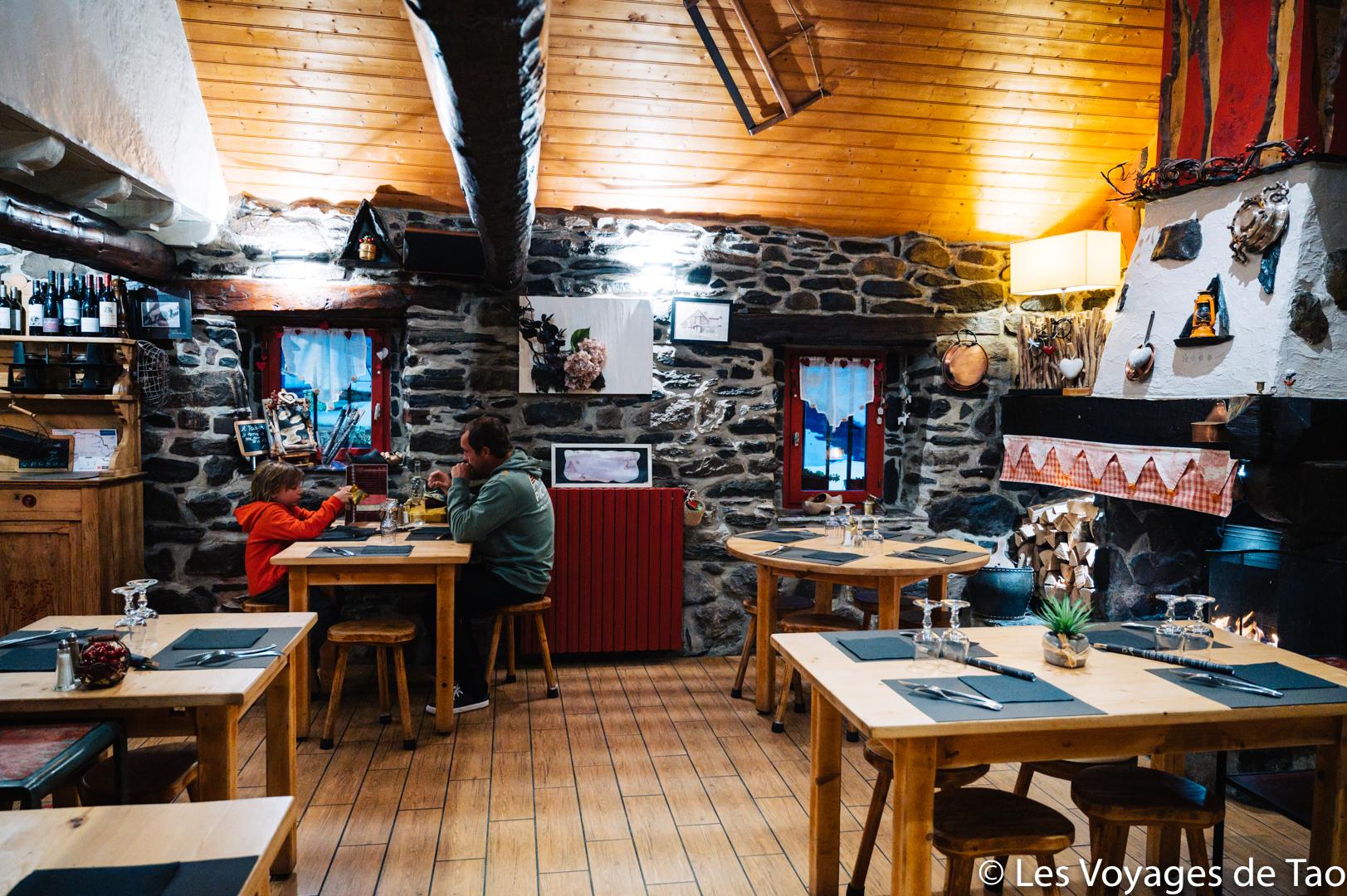 Restaurante familiar en los Pirineos