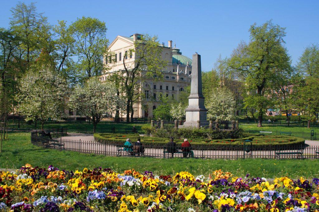 Planty park para hacer en Cracovia