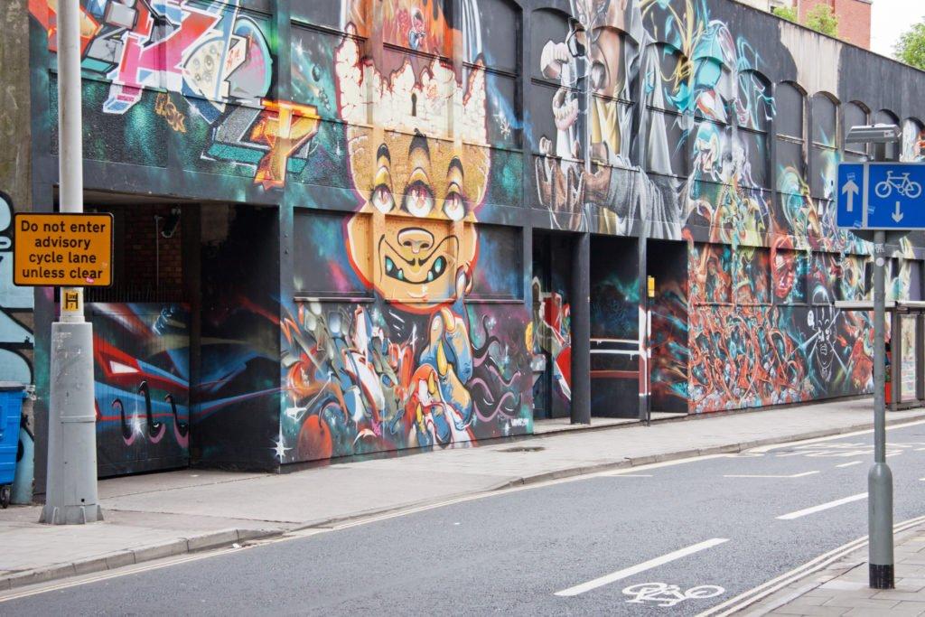 Arte callejero en Bristol