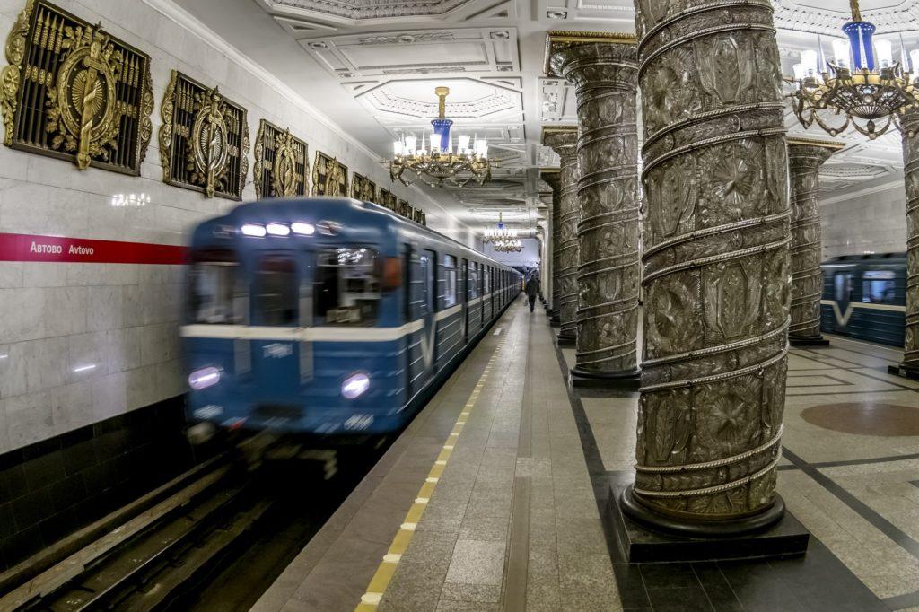 metro en San Petersburgo