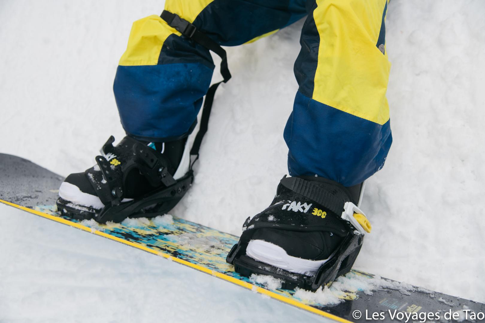 equipo de snowboard para niños