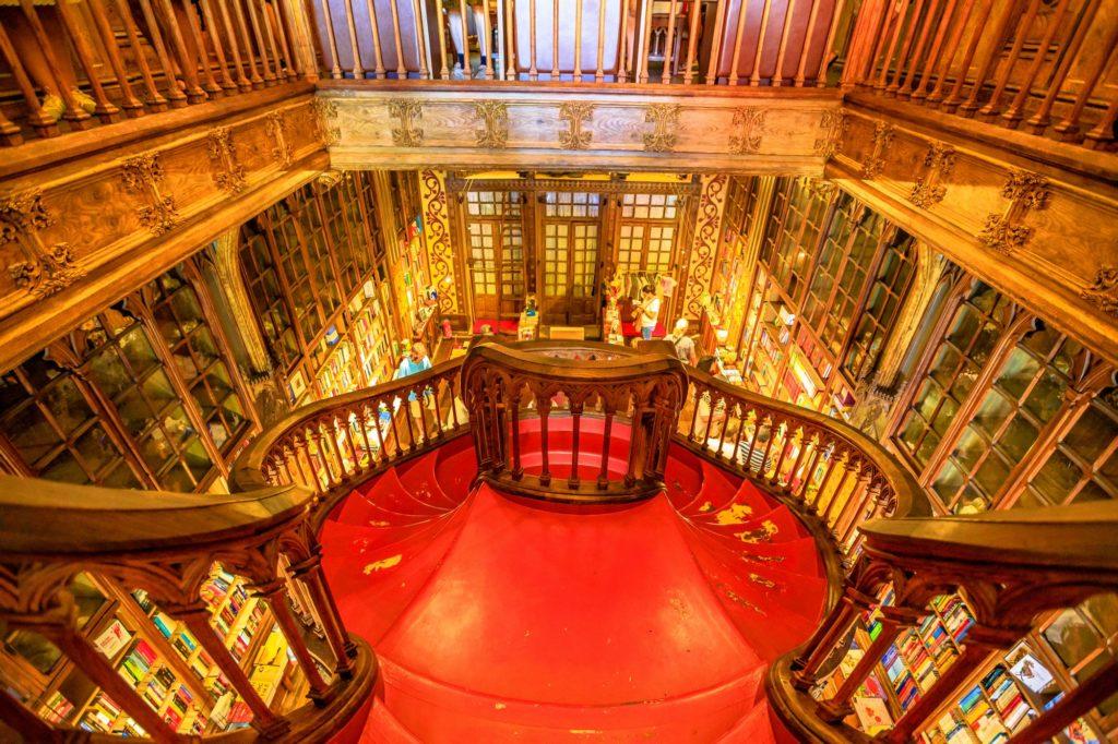 librairie Lello Portugal