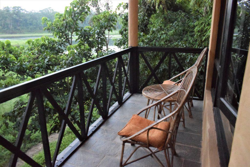 Vista desde el Chitwan Resort
