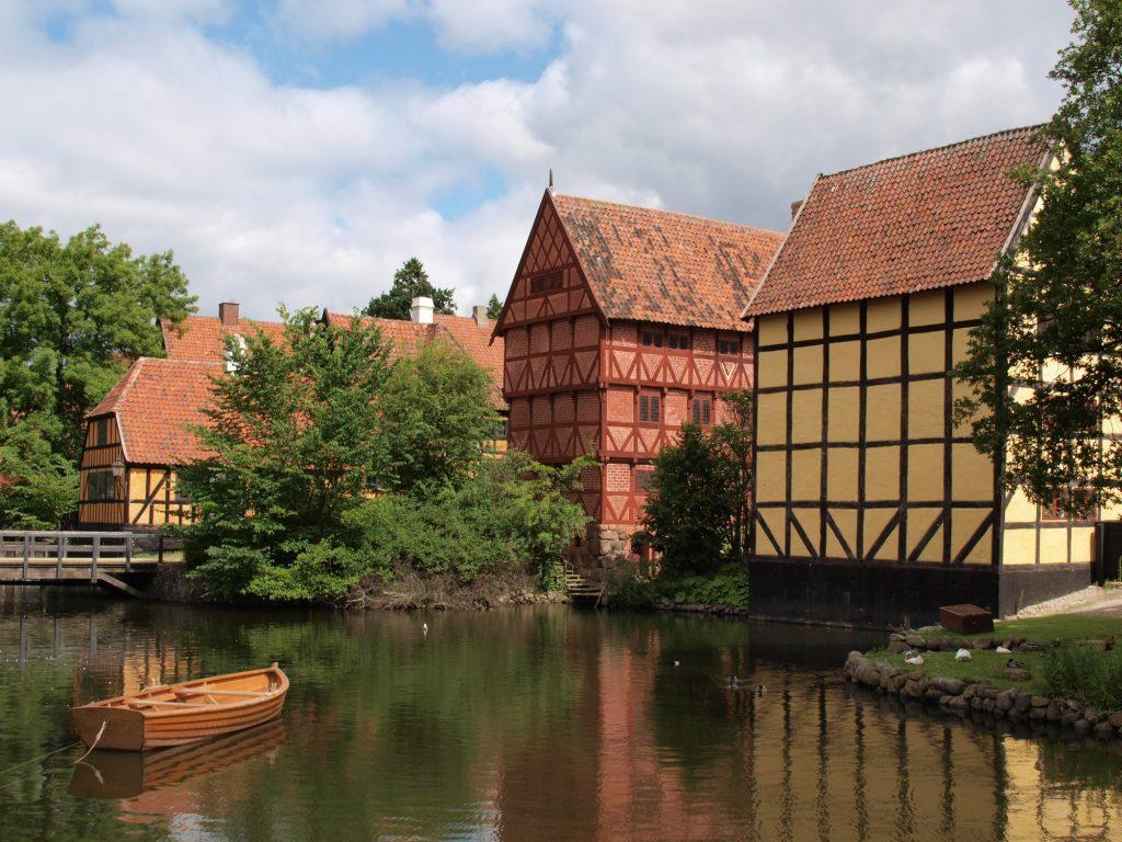 Aarhus el casco antiguo