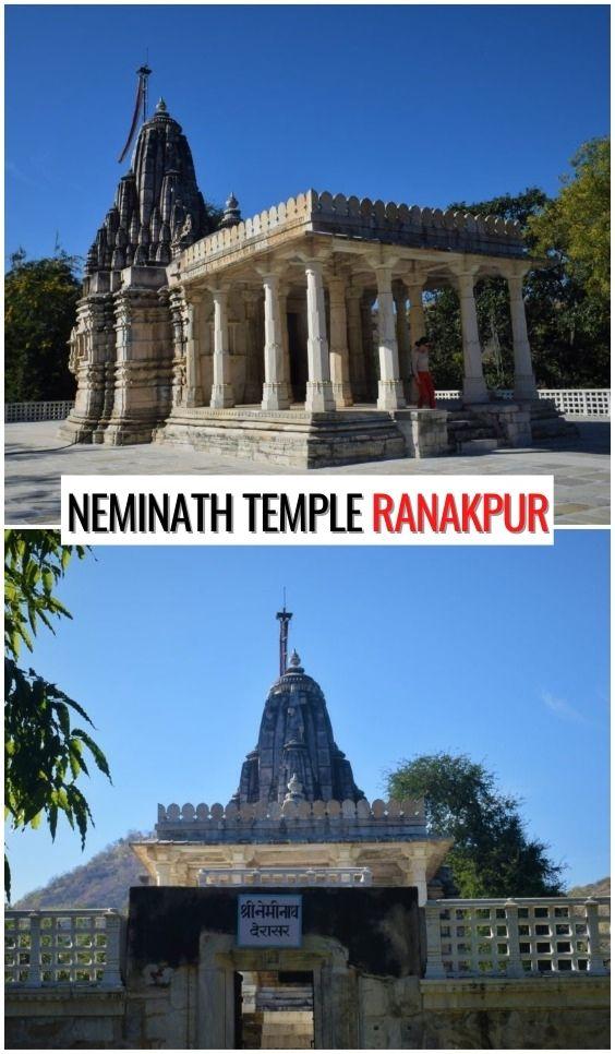 Templo de Neminath Ranakpur, Rajasthan, India