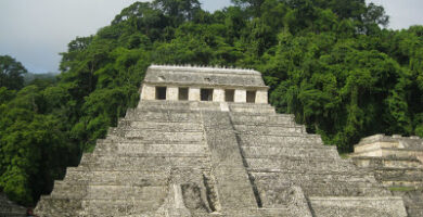 sitio maya del parque nacional palenque en medio de vegetacion tropical 1