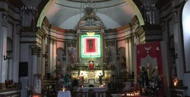 ultima visita de san cristobal a la iglesia de guadalupe