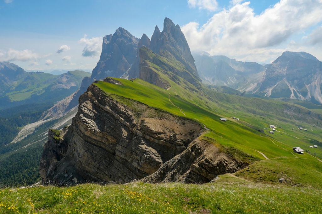 Raodnnée Seceda Dolomites Italia