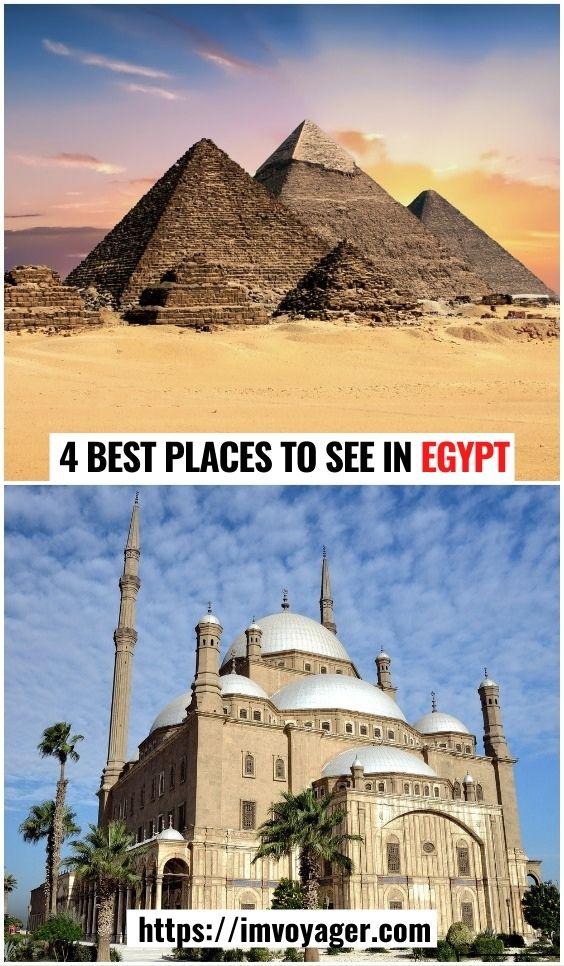 4 mejores lugares para ver en Egipto, África