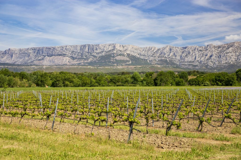 Región vinícola de Aix-en-Provence