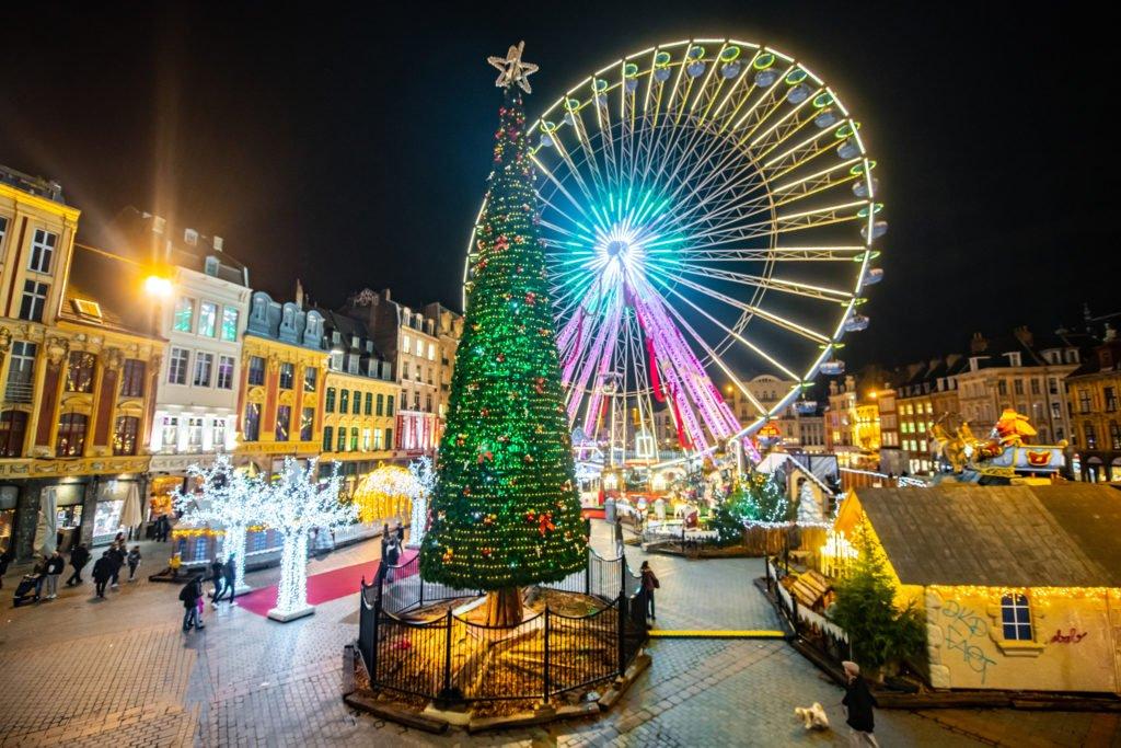 Noria de Navidad de Lille