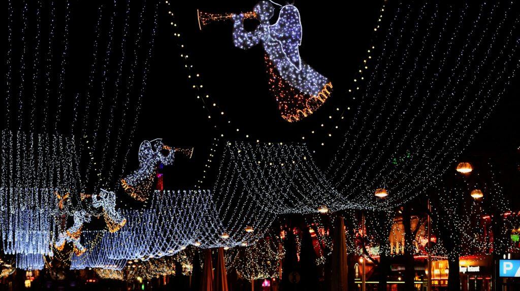 Luces de Navidad en Reims