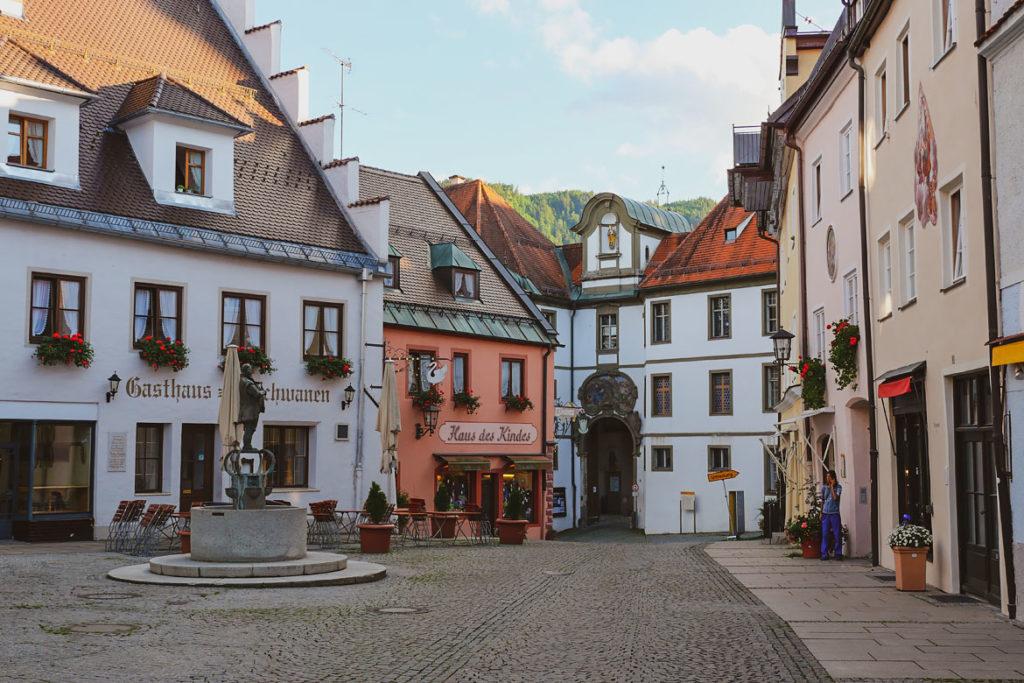 Visite Füssen, Baviera, Alemania