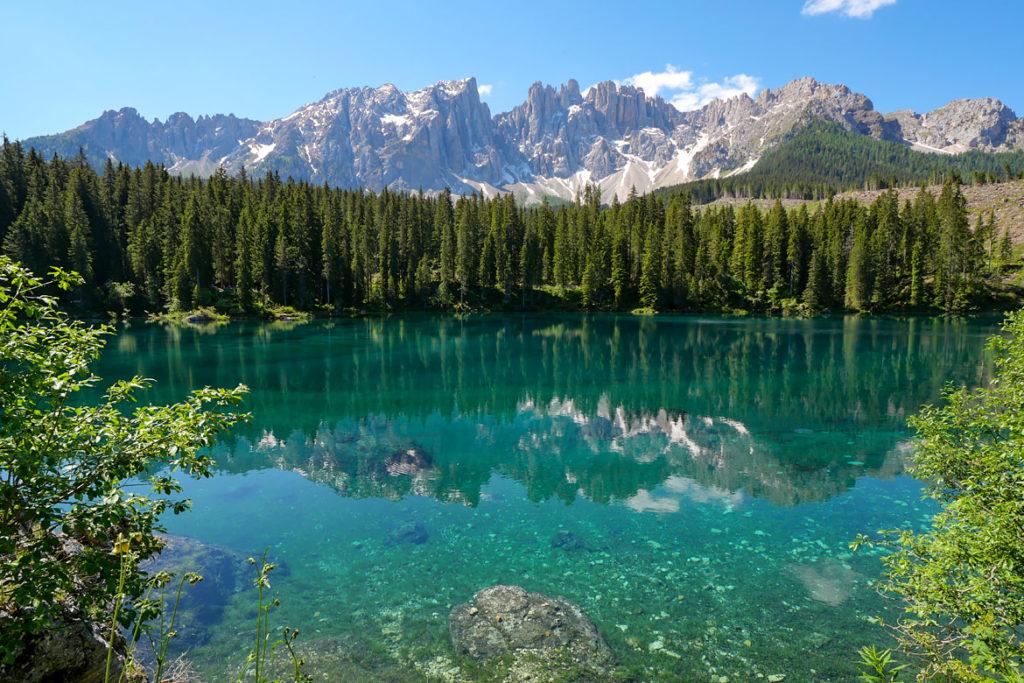 Lago de Carezza Dolomites Italie