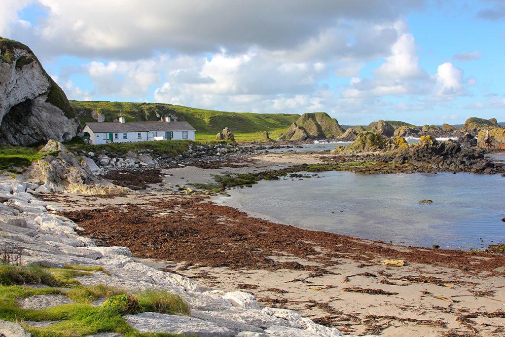 Port Ballintoy Irlande