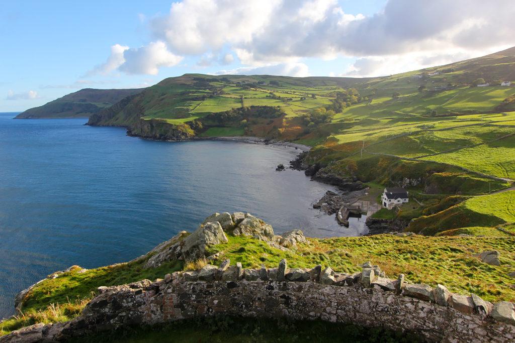 Viaje por carretera a Torr Head Irlanda del Norte