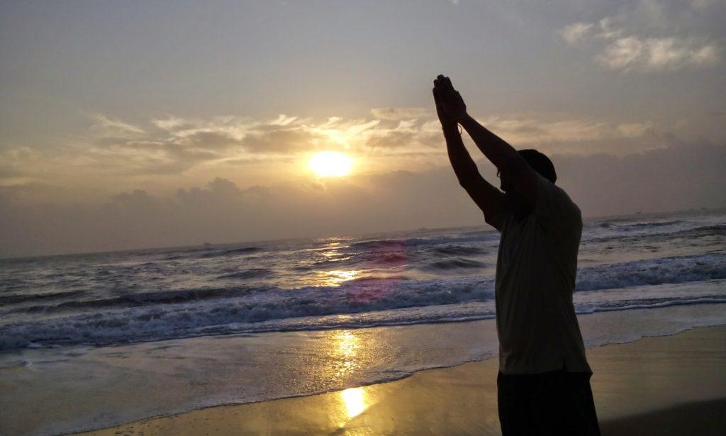 Pondicherry Sunrise