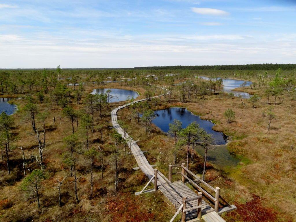 Parque Nacional Kemeri en Letonia