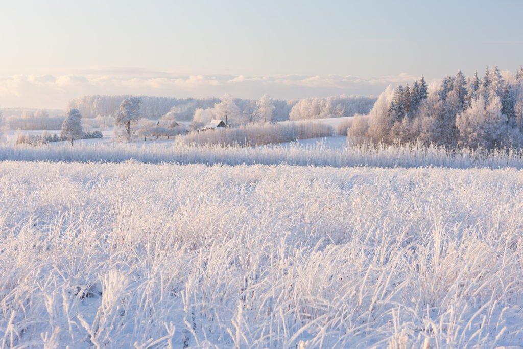 Letonia en invierno