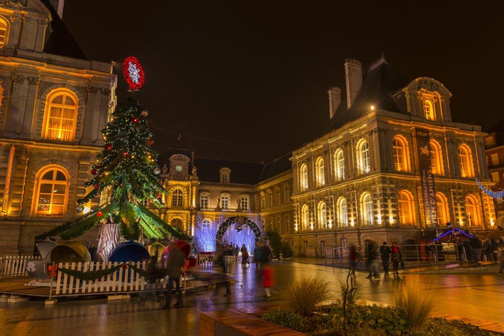 Mercado de Navidad de Amiens