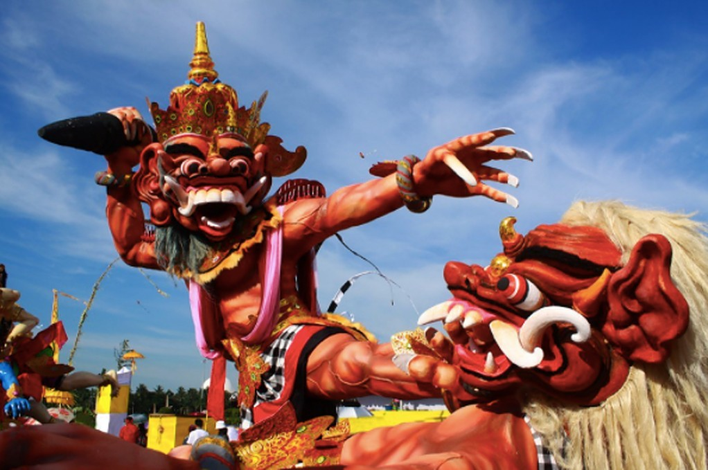 Festival para probar en Bali - Día de Nyepi