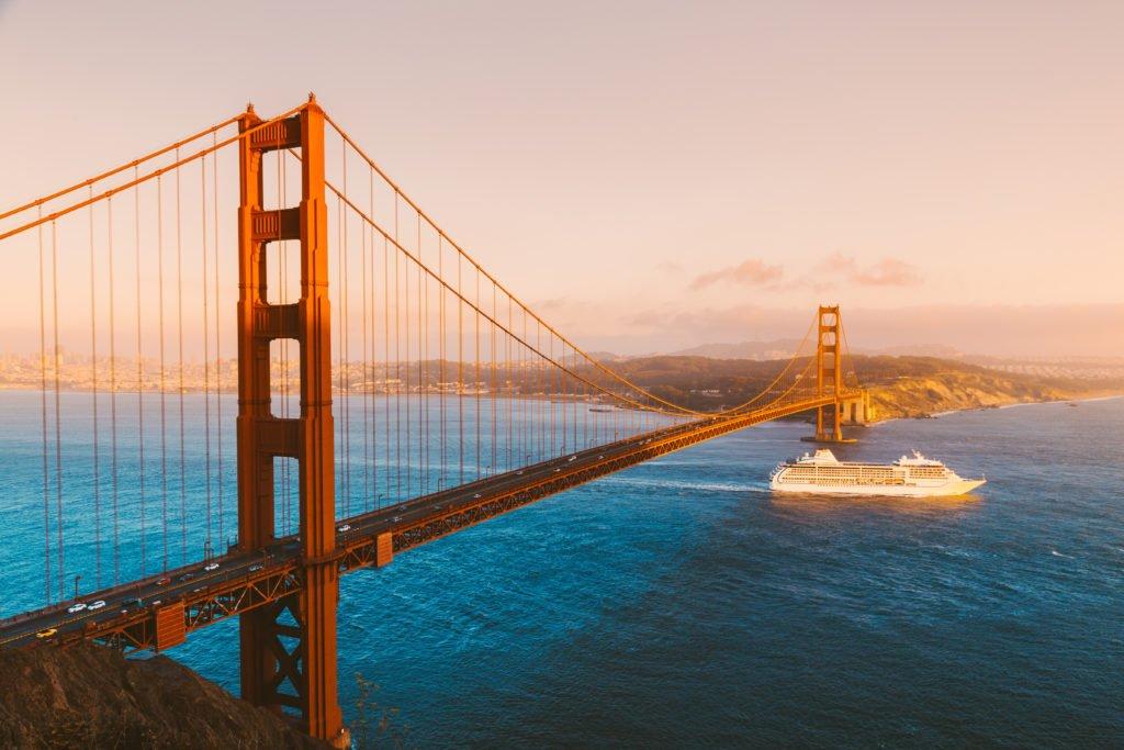 Crucero alrededor del mundo en San Francisco