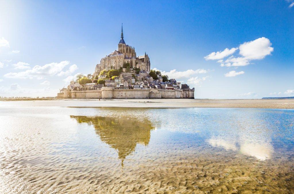 Mont Saint-Michel Normandía