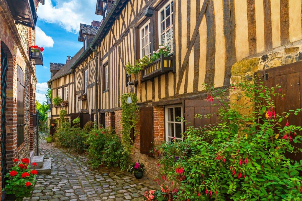 callejón de Honfleur