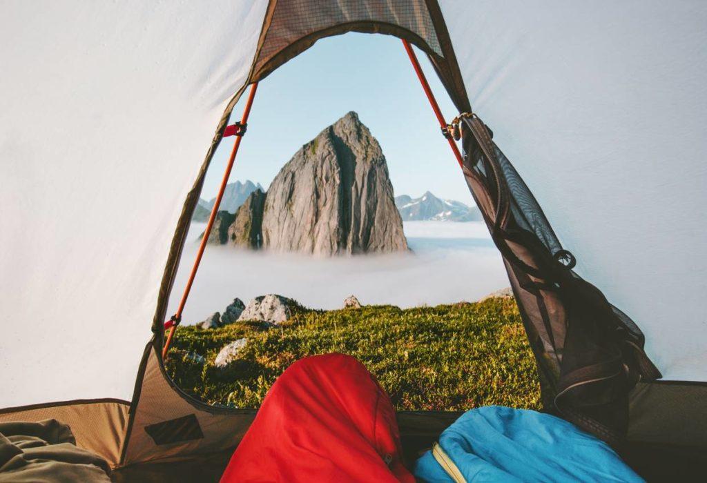 El saco de dormir adecuado para viajar