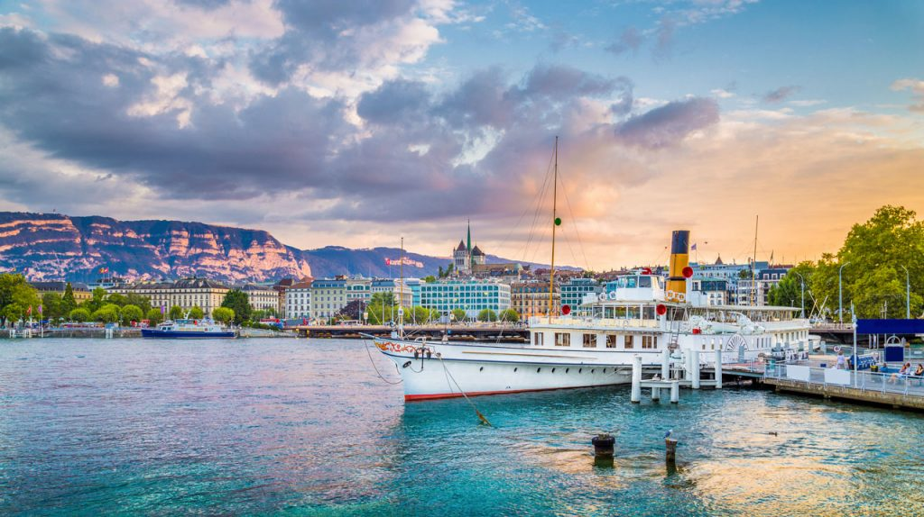 Crucero por el lago de Ginebra