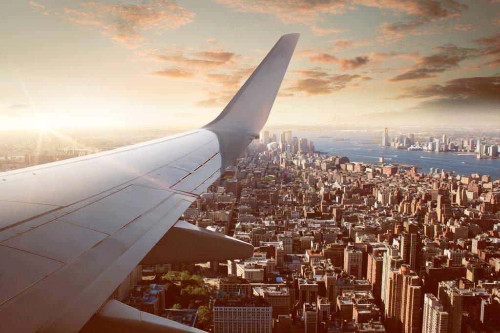 vuelo sobre Nueva York