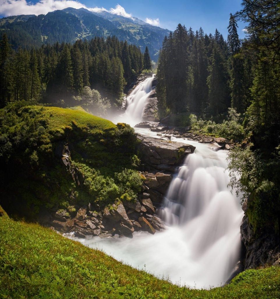 Krimml en Austria