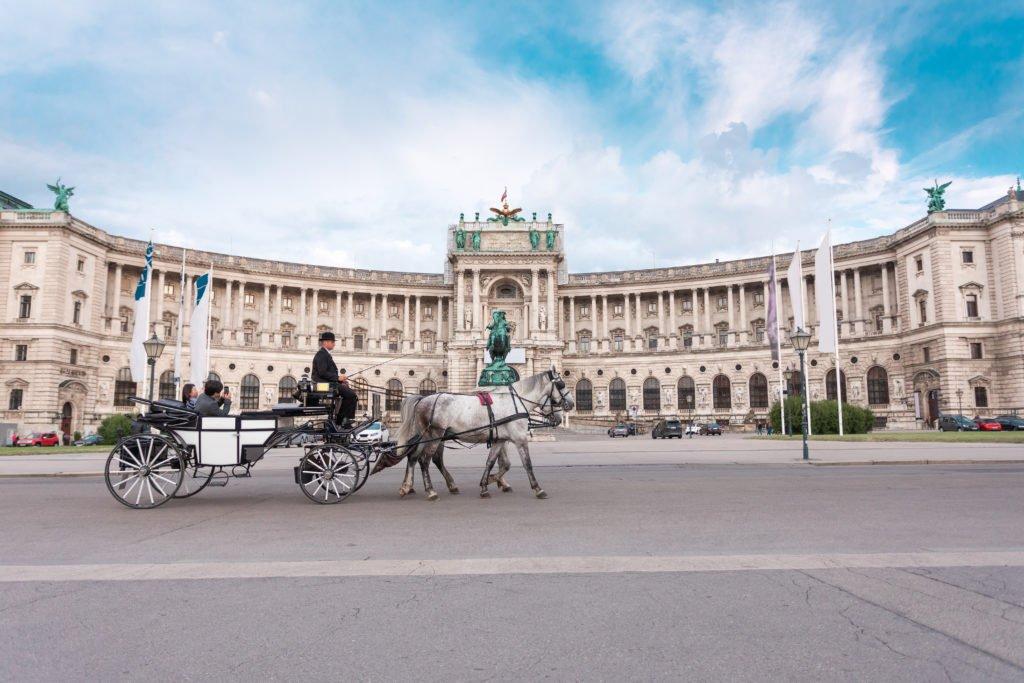 Hofburg en Viena