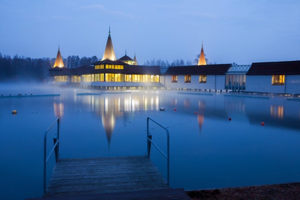 lago termal Heviz