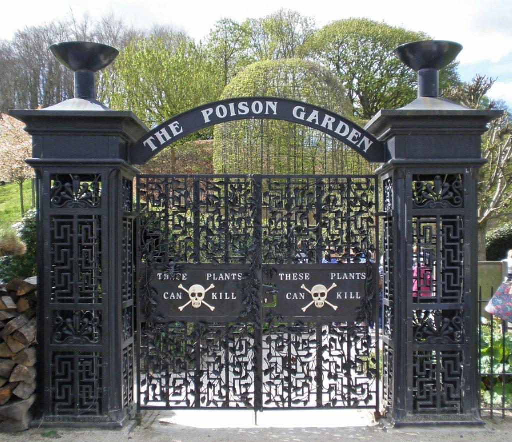 peligroso jardín de veneno