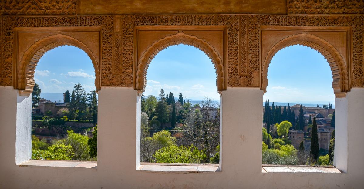 Granada pase de la ciudad de la Alhambra