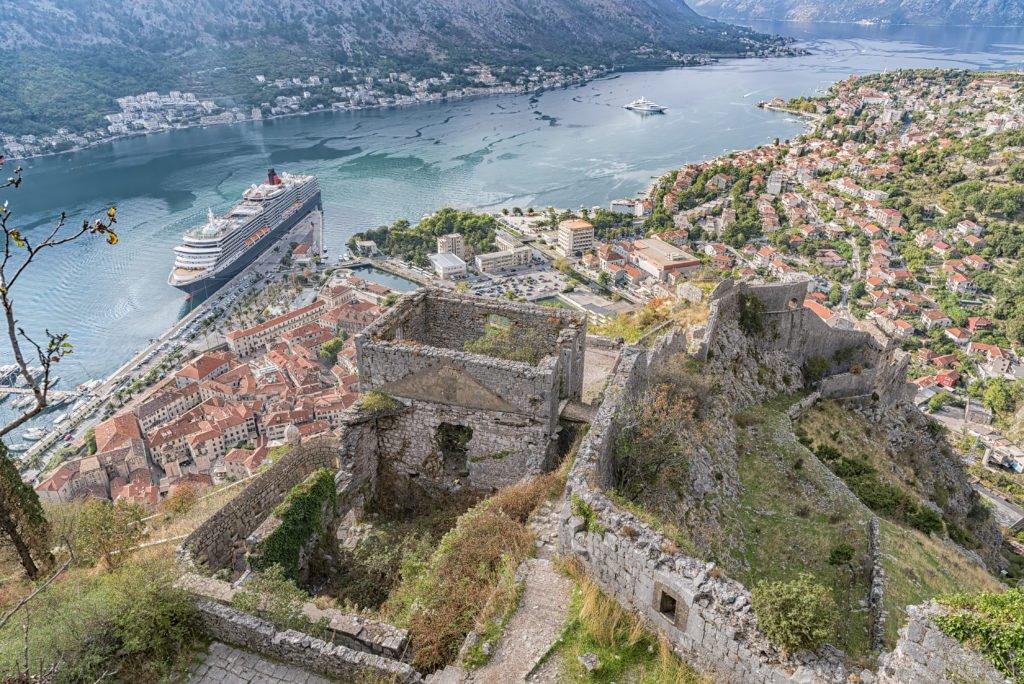 murallas de Kotor