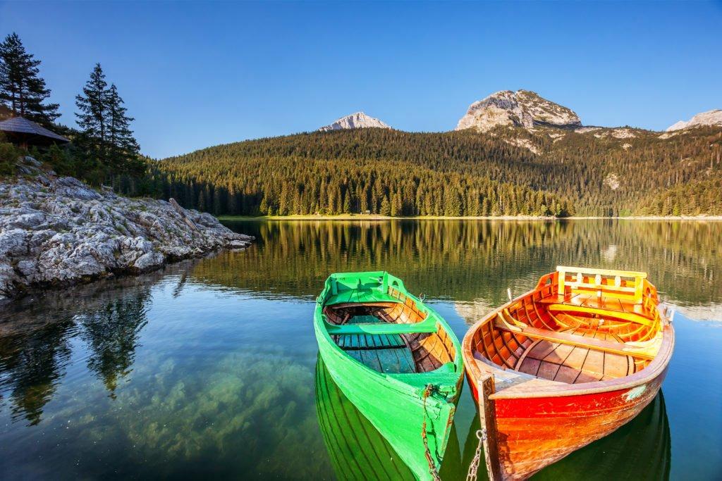 Lago Negro en el Parque Nacional Durmitor