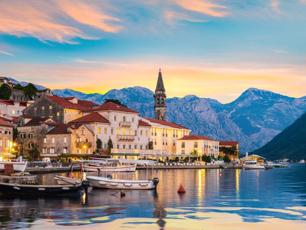 Perast en Montenegro